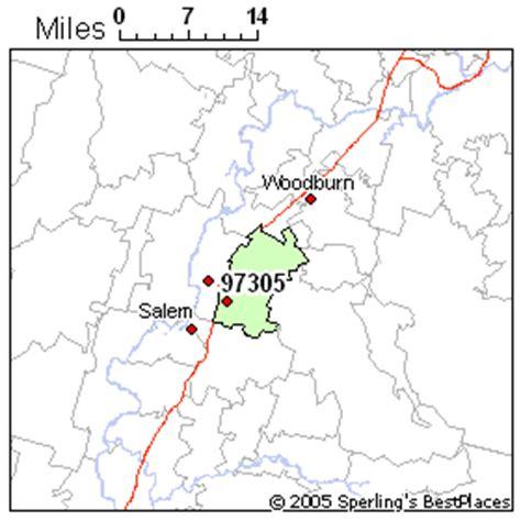 map of salem oregon zip codes best place to live in salem zip 97305 oregon