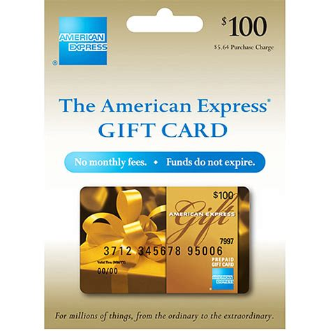 American Express Gift Card Zip Code - 100 american express gift card purchase fee included gift cards walmart com
