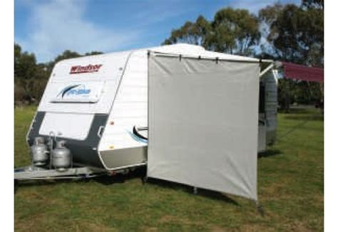 camec awning privacy screen end wall caravan