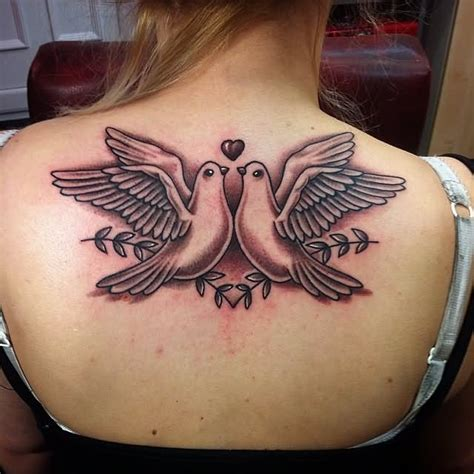 women s upper back tattoos 35 back shoulder tattoos for