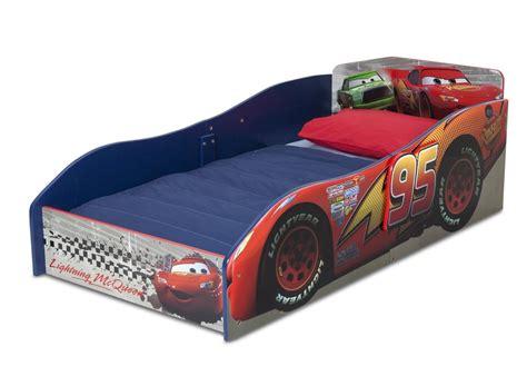 Disney Cars Bed by Delta Disney Cars Wooden Toddler Bed 619249749689 Ebay