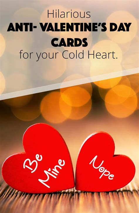 cold valentines day friday anti s day cards for your cold