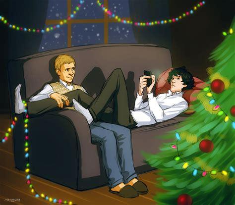 lovely sherlock christmas images  gifs nsf