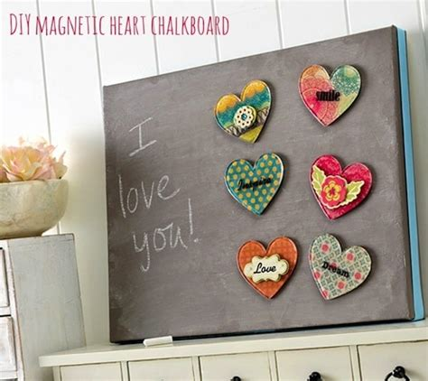 easy magnetic chalkboard on canvas mod podge rocks
