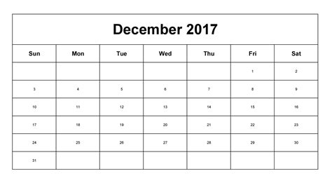 small printable december calendar cute december 2017 calendar