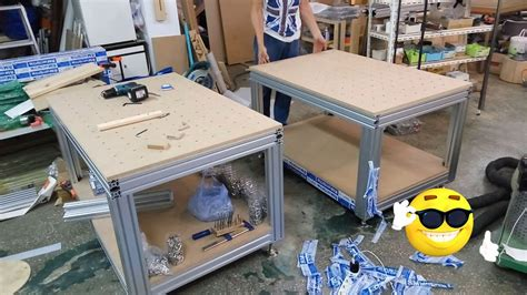 building  aluminum profile workbench woodworking bench