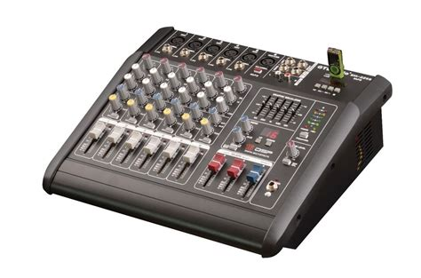 2000 watts 6 channel professional powered mixer power mixing lifier new ebay