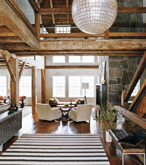 exposed beam a rustic flavor 20 suggestions of how to expose beams