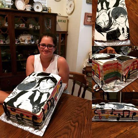 Cak New Black black butler cake foodie black