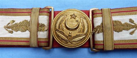 Officier Ottoman by Ww1 Ceinture Et Boucle D Officier De L Arm 233 E Turque