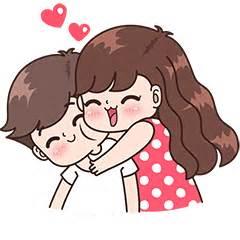 imagenes de parejas romanticas en dibujo boobib cute couples vol 5 line stickers line store