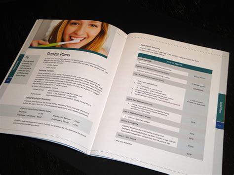 Employee Benefits Guide On Behance Benefits Brochure Template