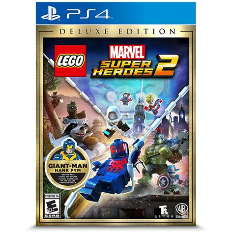 Kaset Ps4 Lego Marvel Heroes 2 ps4 lego marvel heroes 2 deluxe edition 5051895410721