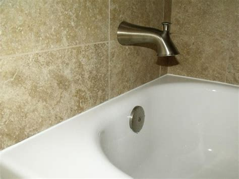 how to put caulking around a bathtub don t caulk here