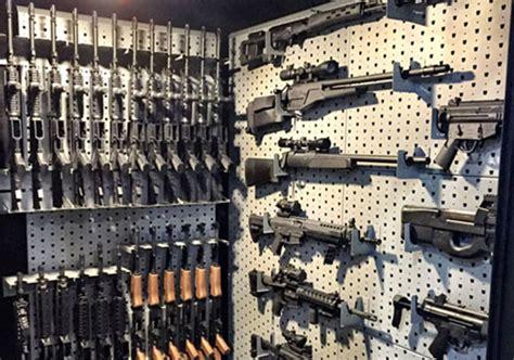 Gun Safe Room by Gun Racks
