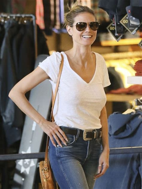 heidi klum surrounds herself with five real life clones at her heidi klum leaves little to the imagination as she enjoys