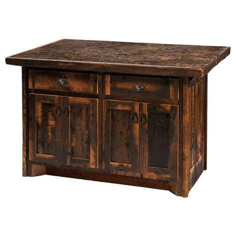 Kitchen Islands Furniture barnwood kitchen island