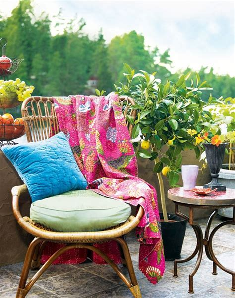 Beautifully Boho Style Blogs by Boho Chic Balcony Chair Furniture