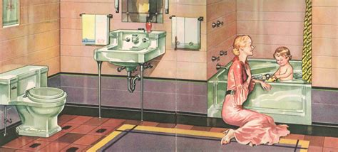 The Evolution Of Colored Bathroom Fixtures Old House Colored Bathroom Fixtures