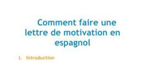 Présentation Lettre De Motivation En Espagnol Cours Espagnol Gratuit Fiches De Profs Pour Apprendre L Espagnol