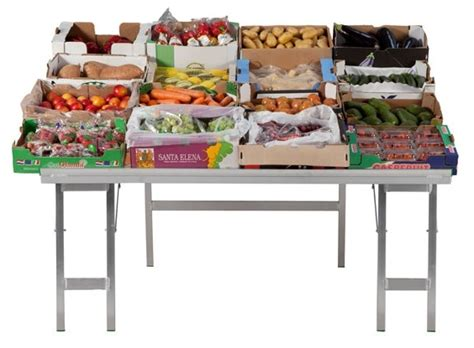 Compact Folding Table Market Stall Tables For Market Traders Folding Compact