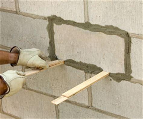 Repairing Brick and Block Walls   Maintaining & Repairing