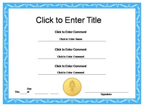powerpoint certificate templates free award certificate templates search results calendar 2015