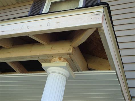 Porch Roof Construction Front Porch Ideas Innovate Building Solutions