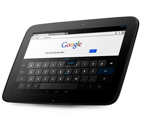 nexus 10 review | google 10in android tablet pc advisor