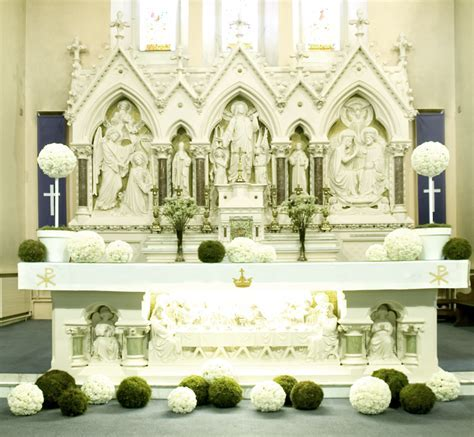 wedding church altar ceremony flowers images   Google