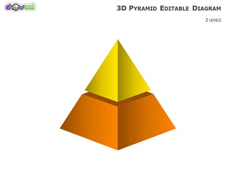 3d Pyramid Diagrams For Powerpoint Powerpoint 3d Pyramid