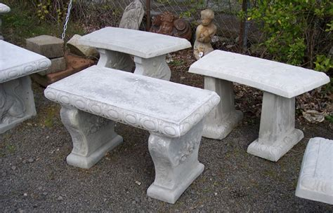 cement outdoor benches garden tables and benches concrete decorative bench