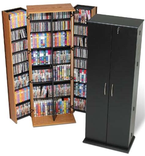 702 CD 448 DVD Storage Cabinet / Rack with Lock   NEW   eBay