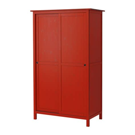 armoire ikea hemnes wardrobe with 2 sliding doors red ikea