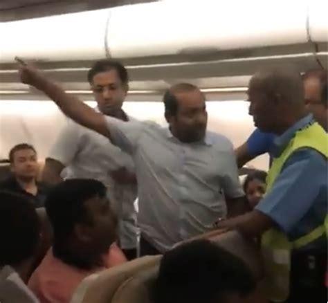 report sick passengers refused water threatened