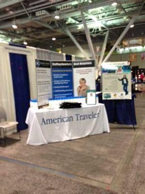nti aacn boston booth job fair travel nursing