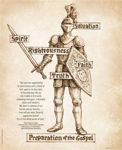 armoir of god great armor of god printable poster family home evening