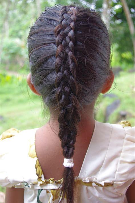 small braid by large braid braids hairstyles for super long hair micronesian girl