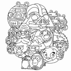angry birds wars coloring pages darth vader angry birds wars pig darth vader coloring pages