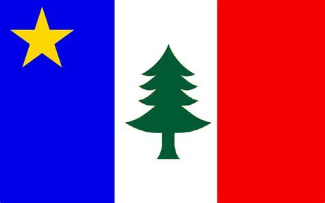 alternate flag of acadia by ramones1986 on deviantart