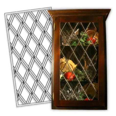 Cabinet Glass Inserts Beveled Leaded Glass Leaded Glass Cabinet Door Inserts