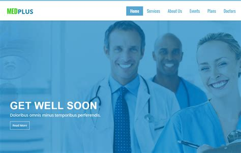 templates bootstrap free medical best medical bootstrap web template webthemez