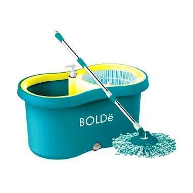 Alat Pel Mop Bolde M 169x Plus Botol Pewangi Drainase jual bolde mop m 169x plus alat pel otomatis biru