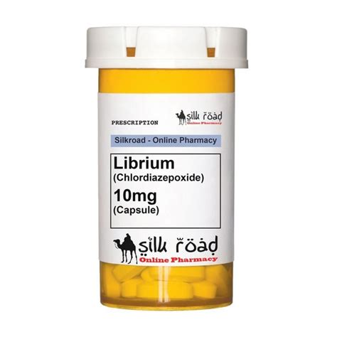 How Does Librium Work In Detox by Librium 10 Mg 10 Tabs By Roche For Effective Gain