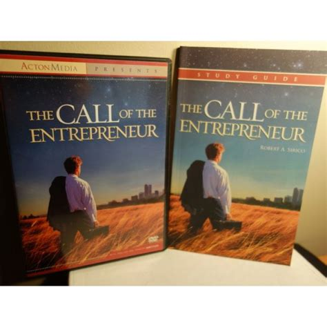 entrepreneurship my story your guide books the call of the entrepreneur dvd and study guide