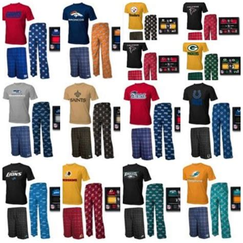 christmas gift idea nfl 3 piece pajama set for boys a