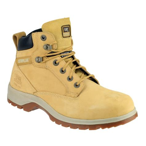 Caterpillar Solid Boots Safety caterpillar kitson honey safety boots charnwood safety footwear