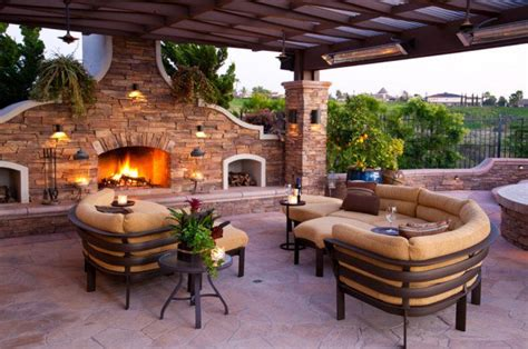 luxury patio home plans 15 luxury and classy mediterranean patio designs