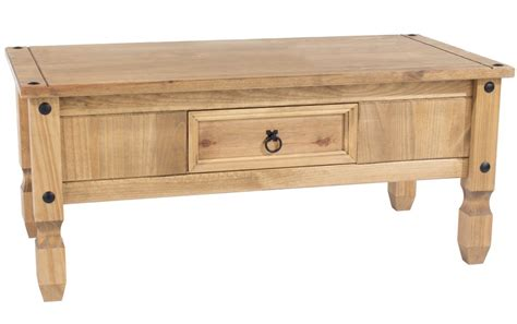 abdabs furniture corona pine coffee table
