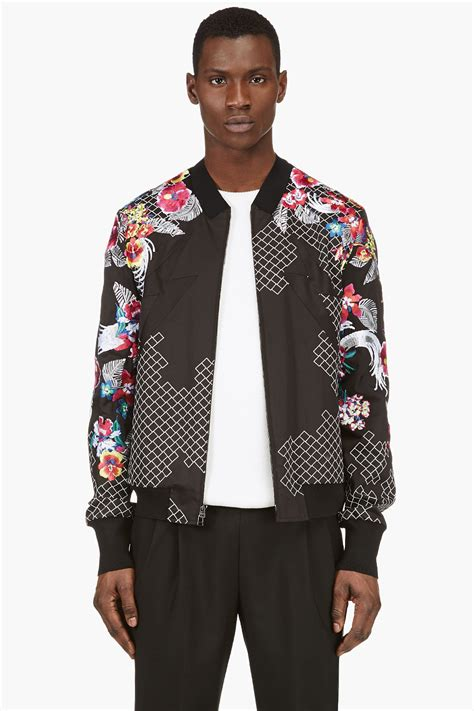 Bomber Jacket Floral Bigsize floral bomber jacket mens jackets review